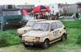 01. Polski Fiat 126p załogi Jacek Sikora i Jacek Sciciński.