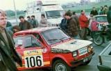 10. Polski Fiat 126p załogi Piotr Oryński i Jarosław Zbróg.