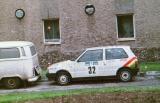 19. Fiat Uno Turbo załogi Jerzy Dyszy i Zbigniew Atłowski.