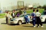 02. Toyota Corolla GT 16V załogi Janusz Kulig i Dariusz Burkat.