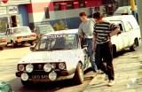 08. Arkadiusz Błaszczyk i jego VW Golf GTi 16V.