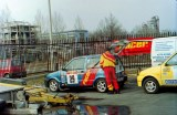 1. Fiat Cinquecento Abarth załogi Jacek Sikora i Marek Kaczmarek