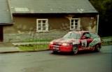 14. Tomasz Kuchar i Tomasz Malec - Opel Astra GSi 16V.