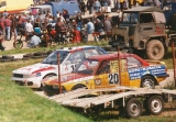 019. Nr.20.Aleksander Michałowski - BMW 323i, nr.12.Krzysztof St