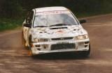 08. Dariusz Poletyło i Tomasz Szostak - Subaru Impreza WRX.