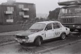 004. Renault 12 Gordini bułgarskiej załogi Ilia Czubrikow i Atan