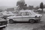 012. Renault 12 Gordini bułgarskiej załogi Jordan Toplodolski i
