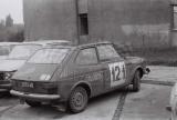 014. Polski Fiat 127p załogi Zbigniew Eysmont i Marek Pawłowski