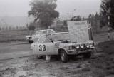 021. Opel Ascona duńskiej załogi Carl Syberg i Ellen Syberg