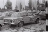 022. Polski Fiat 125p załogi Albin Śliski i Krzysztof Szaykowski