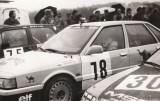 17. Błażej Krupa - Renault 21 Turbo.