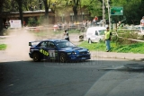 001. Leszek Kuzaj i Magdalena Lukas - Subaru Impreza WRC.