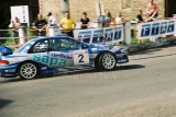 002. Tomasz Czopik i Łukasz Wroński - Subaru Impreza WRC.