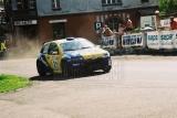 017. Damian Jurczak i Ryszard Ciupka - Fiat Punto Super 1600.