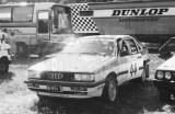 11. Eija Jurvanen i Marit Laine - Audi Quattro coupe.