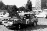 17. Willi Duvel i Harald Brock - Mazda 323 Turbo 4wd.