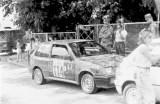 104. Paweł Budzyń i Marek Buszkiewicz - Suzuki Swift GTi.