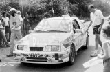105. Robert Droogmans i Ronni Joosten - Ford Sierra Cosworth RS.
