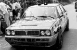 106. Yves Loubet i Jean Marc Andrie - Lancia Delta Integrale HF.