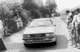 112. Paweł Przybylski i Krzysztof Gęborys - Audi Quattro Coupe.
