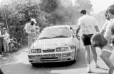 113. Omer Saelens i Jeannick Breyne - Ford Sierra Cosworth RS.