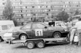 137. Timo Ojanen i Osmo Ojala - Toyota Corolla 1600 GT.