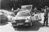 141. Erwin Fricke i Mathias Kuhn - Opel Kadett 1300.