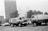 142. Stary przygotowane na rajd Paryż Dakar.