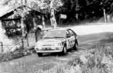 14. Sławomir Szaflicki i Andrzej Klejna - Mazda 323 Turbo 4wd.