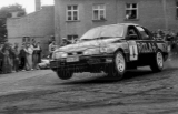27. Marc Soulet i Philippe Willen - Ford Sierra RS Cosworth seda