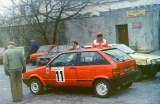 1. Marek Sadowski i Grzegorz Gac - Seat Ibiza LX.