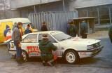 3. Paweł Przybylski i Krzysztof Gęborys - Audi Quattro.