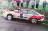 15. Marek Gieruszczak i Maciej Maciejewski - Toyota Celica GT4.