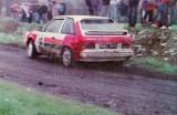 17. Adam Grycan i Dariusz Olesiński - Mazda 323 Turbo 4wd.