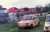 02. Polski Fiat 126p załogi Artur Orlikowski i Przemysław Ulewic
