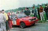 07. Robert Zaremba i Wiesław Stróż - Lancia Delta Integrale.