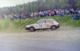 44. Marek Ryndak i Beata Niedzielka - Fiat Ritmo 105 TC.