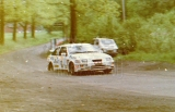 102. Carlo Galli i Giuseppina Sormani - Ford Sierra Cosworth RS.