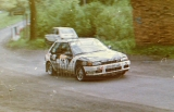 104. Willy Duvel i Harald Brock - Mazda 323 Familia Turbo 4wd.