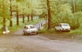 106. Romuald Chałas i Janusz Siniarski - Mazda 323 Turbo 4wd.