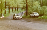 107. Mirosław Krachulec i Marek Kusiak - Mazda 323 Familia Turbo