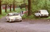 114. Michel Barbezat i Jean Pierre Leuenberger - Ford Sierra Cos