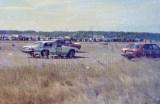 24. Razem z samochodami ratunkowymi startował Jaguar XJRS główne