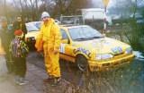 16. Błażej Krupa i M.Krupa - Ford Sierra Saphire Cosworth 4x4.