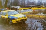 19. Marek Sadowski i K.Koński - Mazda Familia 323 GTX.