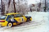 10. Marek Sadowski i Maciej Hołuj - Mazda 323 GTX.