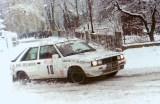 12. Bogdan Herink i Piotr Namysłowski - Renault 11 Turbo.