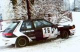 18. Marek Kusiak i Michał Sawka - Mazda 323 GTX.