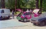 04. Fiat Ritmo 130 TC Abarth załogi Piotr Gadomski i Romuald Por
