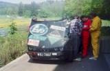 14. BMW 325i załogi Jan Hamera i Adam Balawajder.
